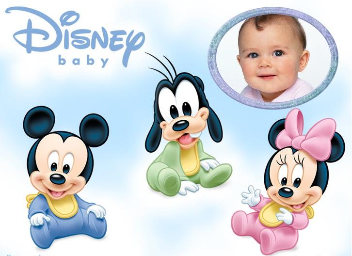 Personajes de Disney en bebés - Imagui
