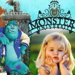 Marco infantil de Monsters University
