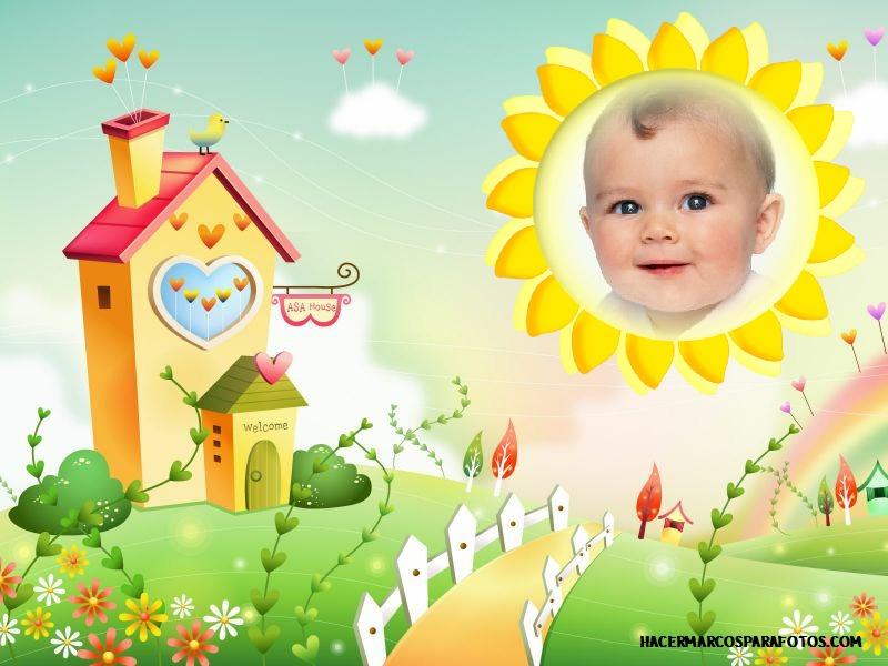 Marco para fotos de beb s marcos para fotos gratis - Marcos fotos bebes ...
