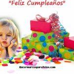 Marco de Cumpleaños con regalos