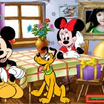 Marco de Minnie y Mickey para decorar tus fotos