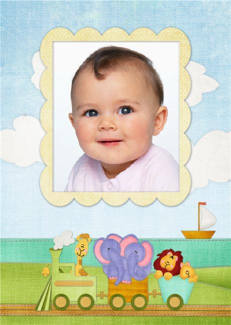 Marco de trencito para fotos de beb s marcos para fotos - Marcos fotos bebes ...