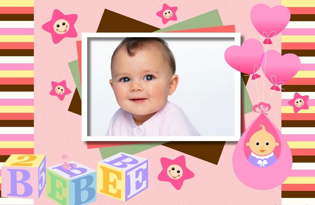 Marco para nacimiento de nena marcos para fotos gratis - Marcos fotos bebes ...