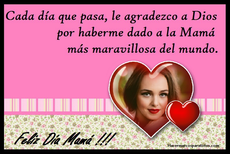 Marco Con Frase Para Mamá Marcos Para Fotos Gratis